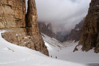 Val de Mesdi, Sella group, Corvara, Dolomites, Italy