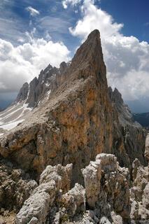 Dolomites, Europe, Italy, Rosengarten