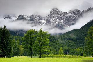 Gozd Martuljek, Spik, Julian Alps, Slovenia
