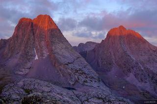 Vestal Peak, Arrow Peak, Grenadier Range, San Juan Mountains, Colorado
