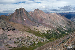 Vestal Peak, Arrow Peak, Grenadier Range, Colorado