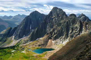 Storm King Peak, Mt. Silex, Weminuche Wilderness, San Juan Mountains, Colorado, Grenadier Range