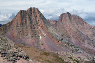 Vestal Peak, Arrow Peak, Wham Ridge, Grenadier Range, Colorado