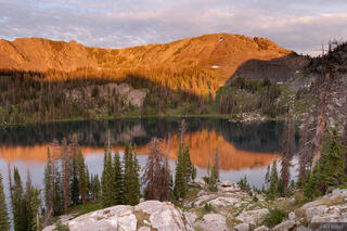 Gilpin Lake, Mount Zirkel Wilderness, Park Range, Colorado