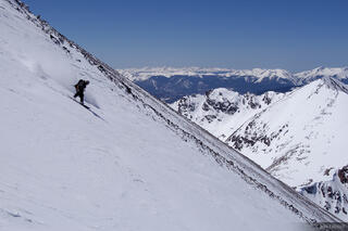 riding, Northwest Couloir