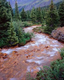Orange river, Uncompahgre Wilderness, Colorado