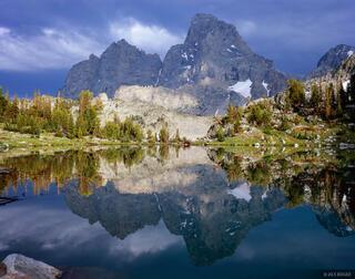 Grand Teton, reflection, Mt. Owen, Wyoming, Grand Teton National Park