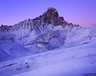 Wetterhorn, north face, Uncompahgre Wilderness, San Juan Mountains, Colorado