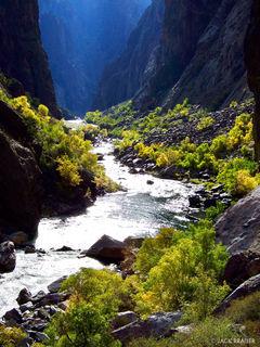 Gunnison River, paradise, Black Canyon, Colorado