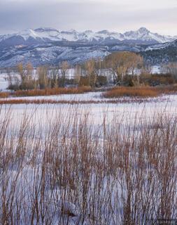 winter, Sneffels Range, San Juan Mountains, Colorado