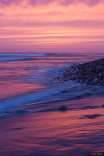 Punta Conejo, sunset, Baja, Mexico