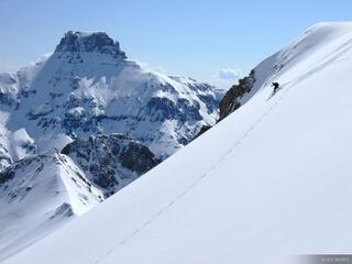 Potosi and Skier
