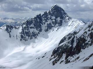 Peak near Ophir Pass