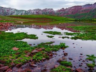 Colorado, Maroon Bells Snowmass Wilderness