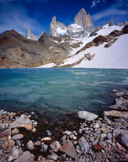 Laguna de los Tres, Chalt