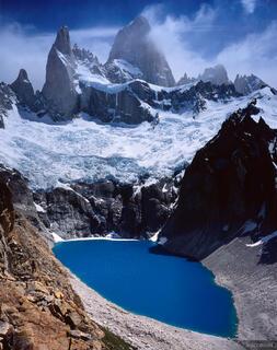 Laguna Sucia, Monte Fitz Roy, Chalten, Argentina, Patagonia