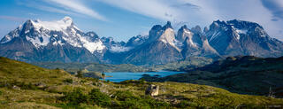 Torres del Paine National Park, Chile, panorama