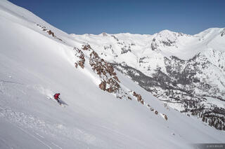 Backcountry skiing, San Juan Mountains, Colorado
