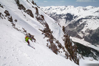 Skiing, Abrams Mountain,Colorado