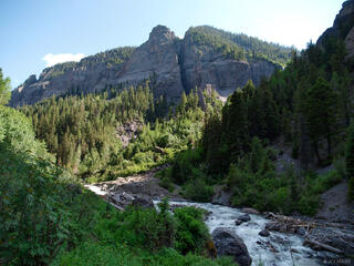 Colorado, Cow Creek, San Juan Mountains, July