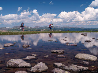 hiking, Continental Divide Trail, South San Juans, Colorado