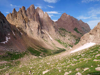 Turret Needles, Pigeon Peak, Weminuche Wilderness, Colorado