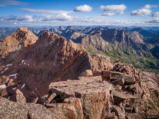 Colorado, Needle Mountains, San Juan Mountains, Weminuche Wilderness, 14er