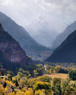 Ouray, Mt. Abrams, autumn, Colorado
