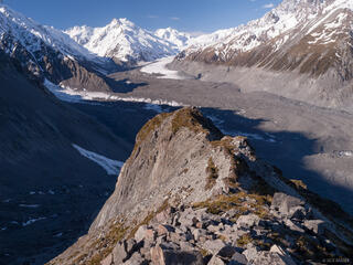 New Zealand, Southern Alps, Tasman Glacier