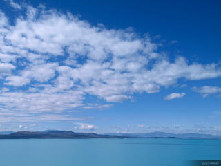 New Zealand, Lake Pukaki, blue