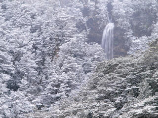 Bridal Veil, Arthur's Pass, New Zealand, snow