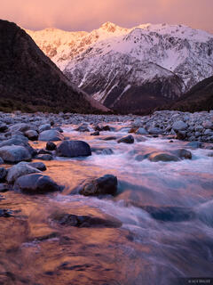 Waimakariri River, Arthur's Pass, New Zealand, Arthurs Pass National Park