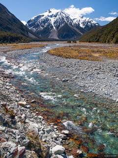 New Zealand, Arthurs Pass National Park, Waimakariri River