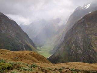 Milford Track,New Zealand, Clinton Canyon, Mackinnon Pass