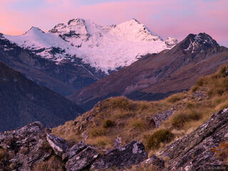 Mount Earnslaw, Mt. Aspiring, National Park, New Zealand