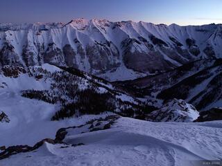 Ophir, Colorado, dawn