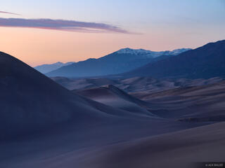 dusk, Great Sand Dunes, Colorado