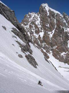 Middle Teton Descent