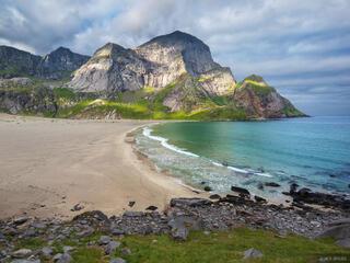 Bunes, Lofoten Islands, Norway, Moskenesøya, Lofoten