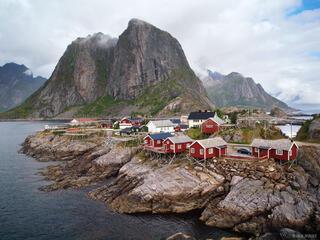 Hamnøya, Moskenesøya, Lofoten, Norway, rorbus