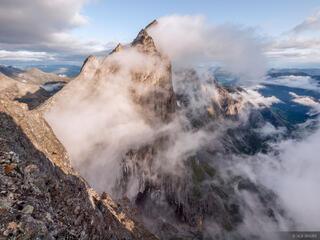 Trollveggen, Trollstinden, Romsdal, Romsdalen, Andalsnes, Norway