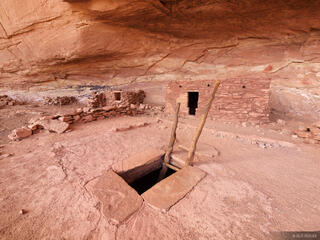 Kiva, Perfect Kiva, Grand Gulch, Utah, ruin, Bears Ears National Monument