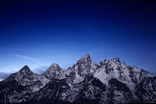 moonlight, tetons, wyoming, jackson hole, Grand Teton National Park