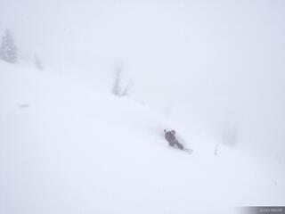 Snowboarding, powder, tetons, wyoming, december