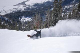 wheelie, snowboarding, Jackson Hole, Wyoming