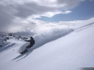 snowboarding, Jackson Hole, Wyoming, powder