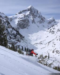Buck Mountain, skiing, Tetons, Wyoming, Jackson Hole