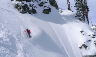 snowboarding, tetons, Wyoming, Turkey Chute