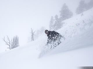 snowboarding, powder, Jackson Hole, Wyoming, Teton Pass