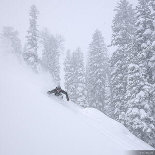 snowboarding, powder, Jackson Hole, Teton Pass, Wyoming